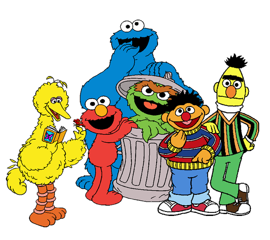 Jumpy - Comics - Sesame Street
